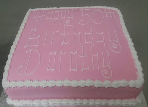 Happy 50th Cake