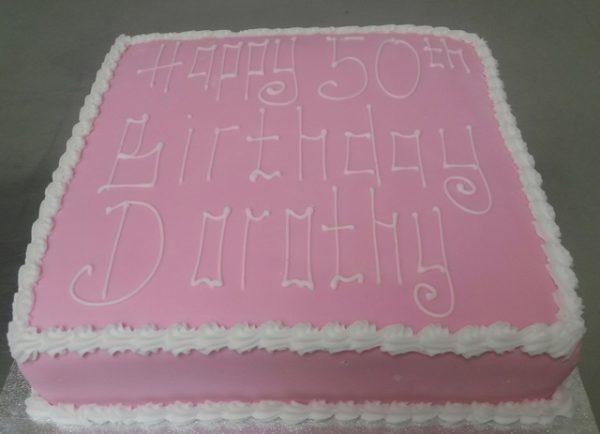 Happy 50th Cake