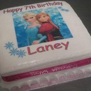 Frozen Image Cake