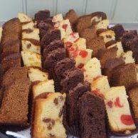 Sponge Cake Platter