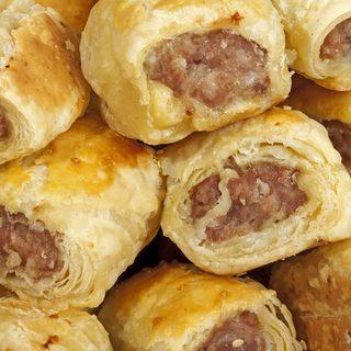 coctail sausage rolls